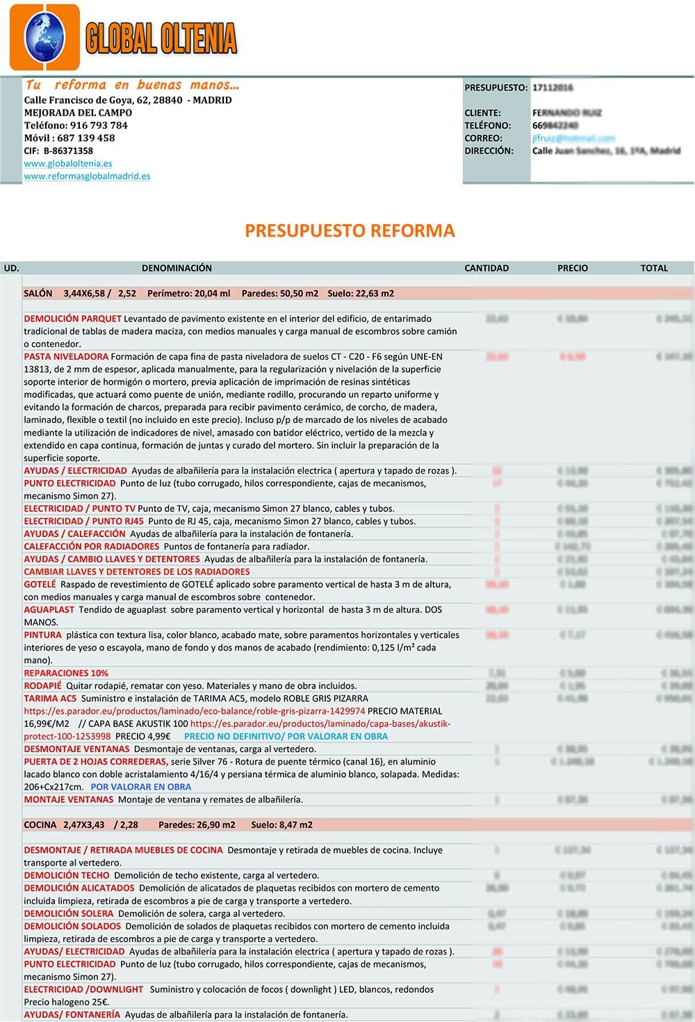 Precio Metro Cuadrado Reforma Amazing Edificalia