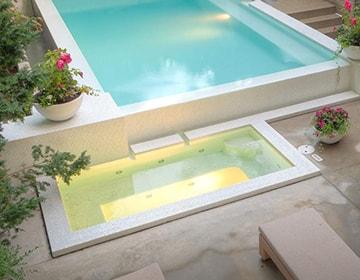 Obra de piscina y dise o exterior en tres cantos for Piscina islas tres cantos