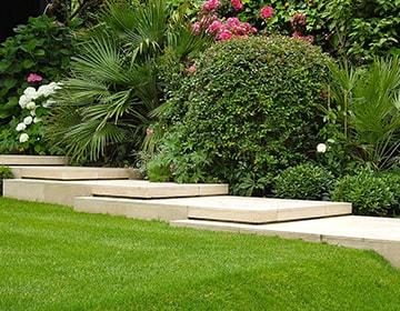 Dise o exterior de jardin en alcala de henares madrid - Diseno jardines madrid ...
